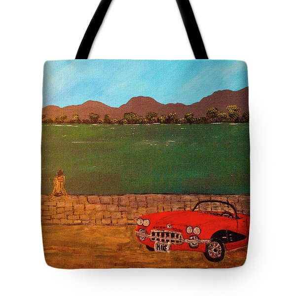 Tote Bag featuring the photograph Kicks On Route 66 by Randy Sylvia
