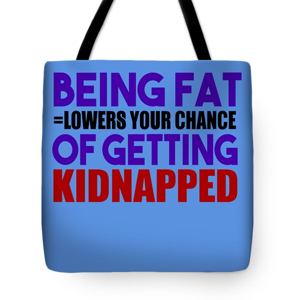Kidnapped Chances Tote Bag