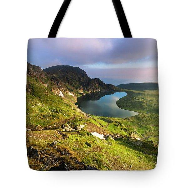 Kidney Lake Tote Bag