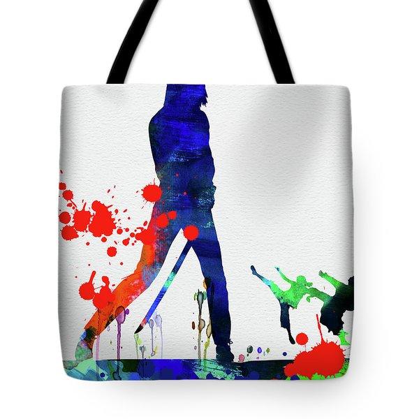 Kill Bill Watercolor Tote Bag
