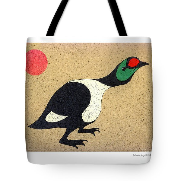 King Eider Tote Bag