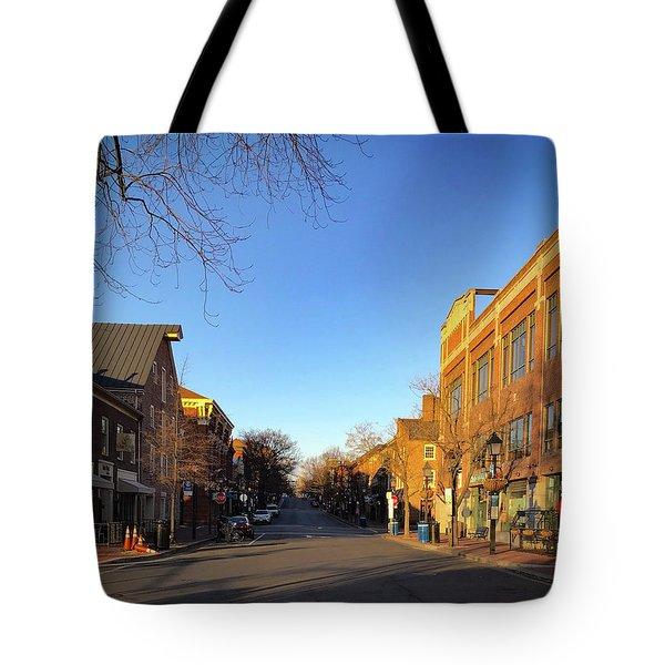 King Street Sunrise Tote Bag