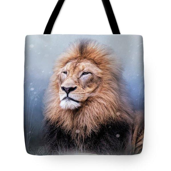 King Winter Tote Bag