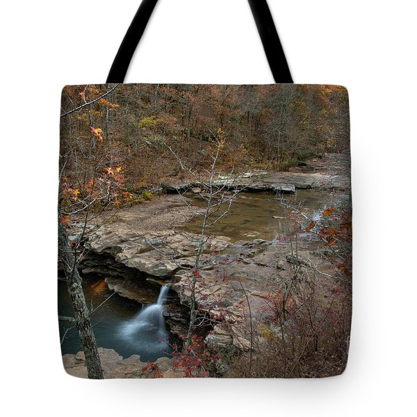 Tote Bag featuring the photograph Kings River Waterfall by Joe Sparks