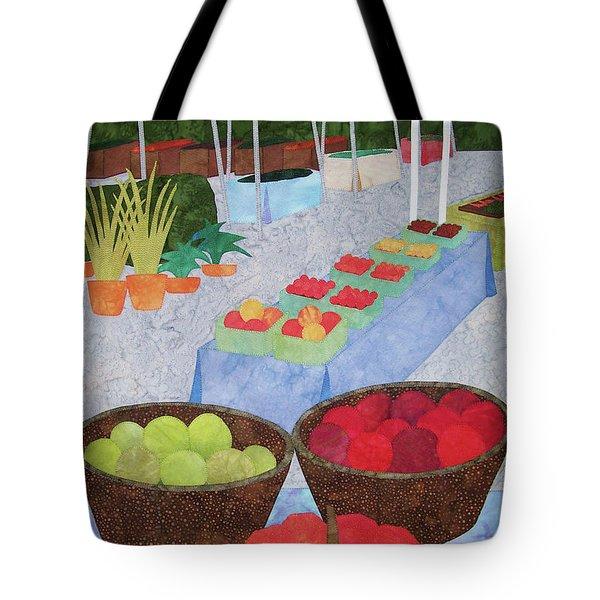 Kings Yard Farmers Market Tote Bag