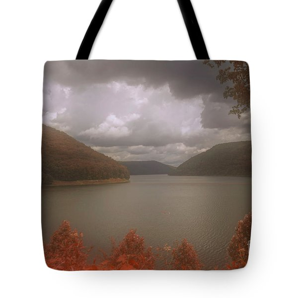 Kinzua Lake Tote Bag