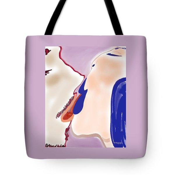 Kissing 1 Tote Bag
