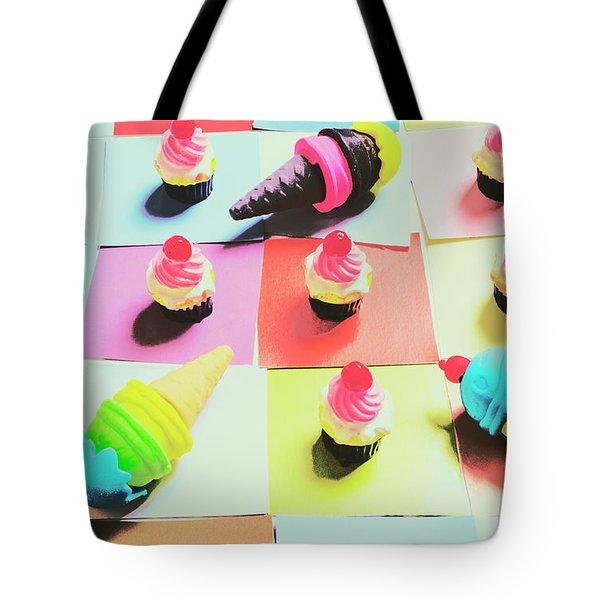 Kitchen Chess Tote Bag