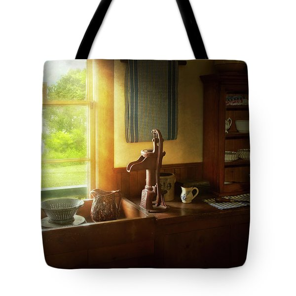 Kitchen - Country - A Rural Kitchen Tote Bag