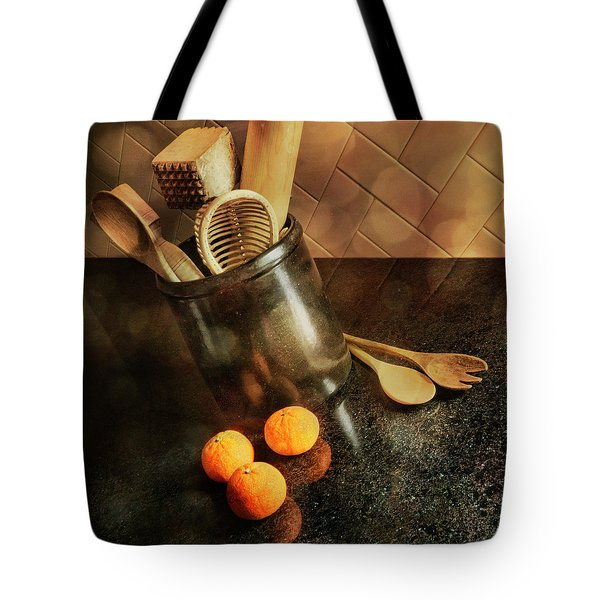 Kitchen Utensils - Mandarin Oranges Tote Bag