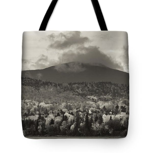 Kokadjo Maine Black And White Landscape Tote Bag