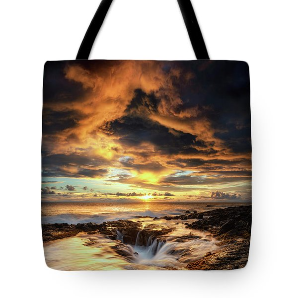 Kona Sunset Tote Bag