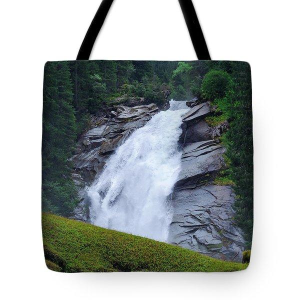 Krimml Waterfalls IIi Tote Bag