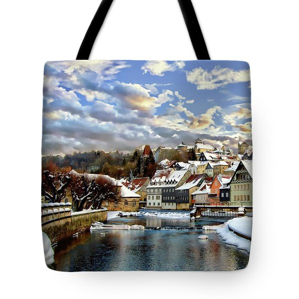 Kronach Winter Scene Tote Bag