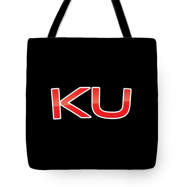Tote Bag featuring the digital art Ku by TintoDesigns