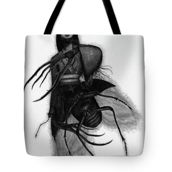 Kuchisake-onna The Slit Mouthed Woman Ghost - Artwork Tote Bag