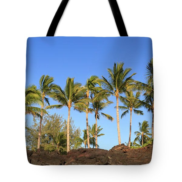 Golden Palms Tote Bag