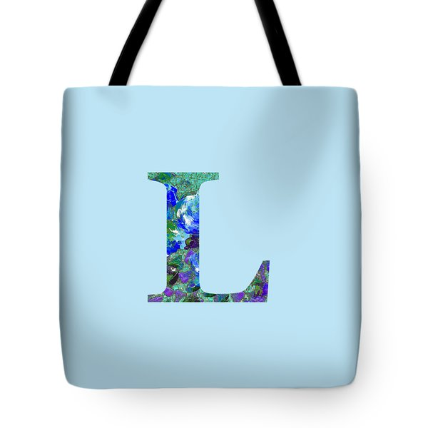 Tote Bag featuring the digital art L 2019 Collection by Corinne Carroll