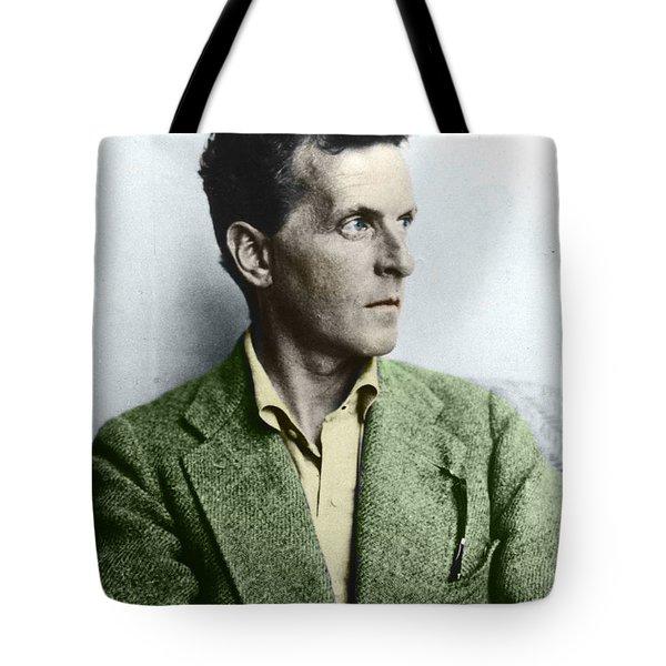 L Wittgenstein Tote Bag