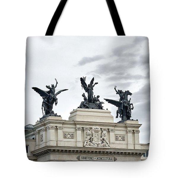 La Gloria Y Los Pegasos Sculptures Tote Bag