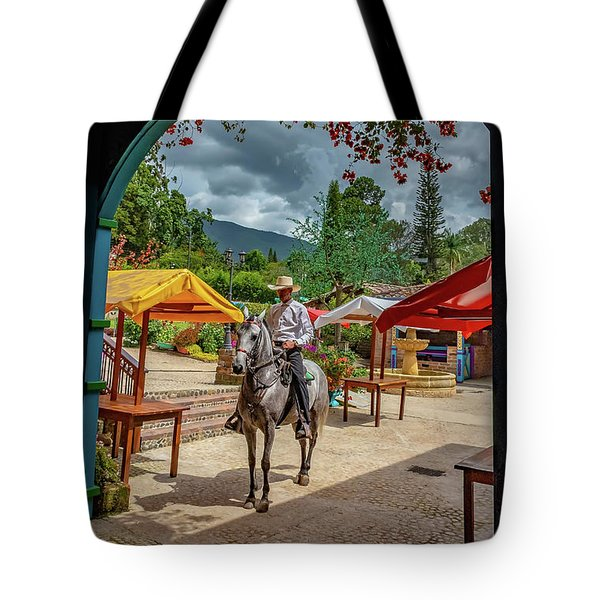 Tote Bag featuring the photograph La Mayoria by Francisco Gomez