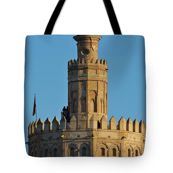 La Torre De Oro Detail. Seville Tote Bag
