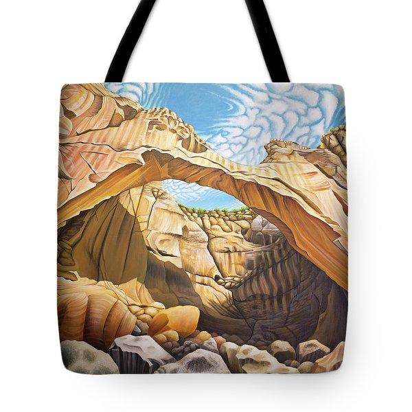 La Vantana Natural Arch Tote Bag