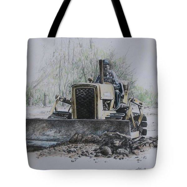 Tote Bag featuring the painting Labour Of Love by Tammy Taylor