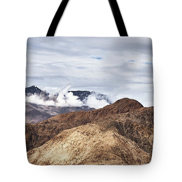 Tote Bag featuring the photograph Ladakh Peaks by Whitney Goodey