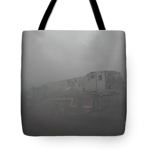 Ladder 5 At A Worker Tote Bag