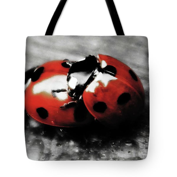 Lady Bug Loving Tote Bag