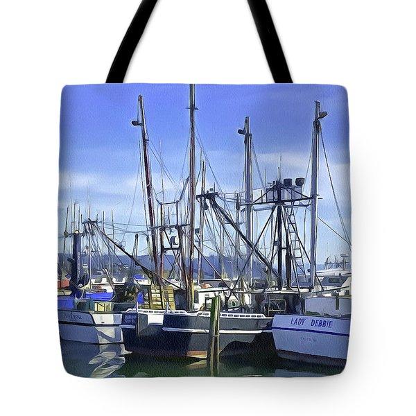 Port Of Ilwaco Tote Bag