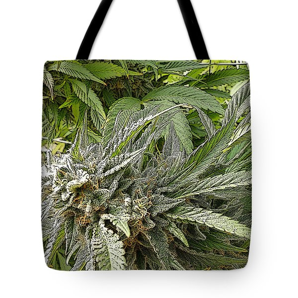 Tote Bag featuring the photograph Larry Og #2 by Ahma's Garden