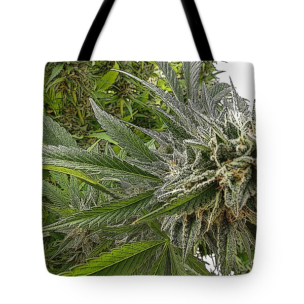 Tote Bag featuring the photograph Larry Og #3 by Ahma's Garden