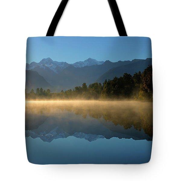 Lake Matheson Morning Tote Bag