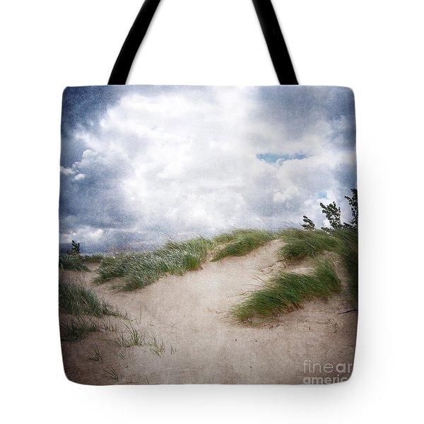 Lake Michigan Sand Dunes Tote Bag