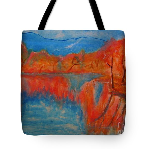 Lake Mirror Tote Bag