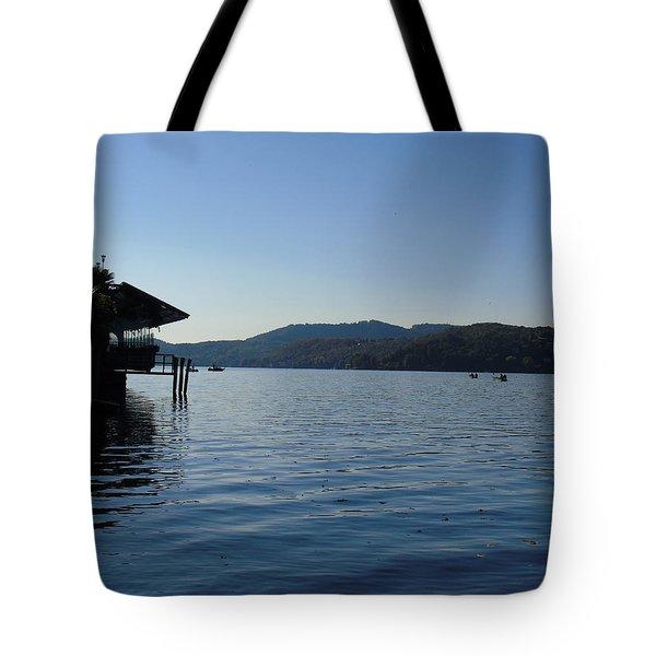 Lake Orta Tote Bag