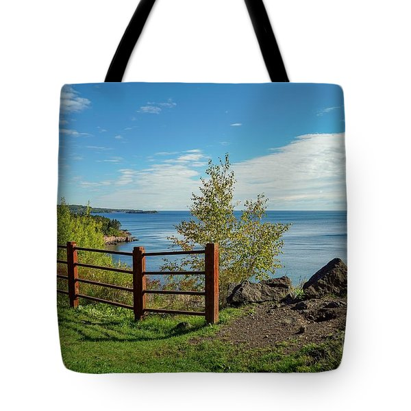 Lake Superior Overlook Tote Bag