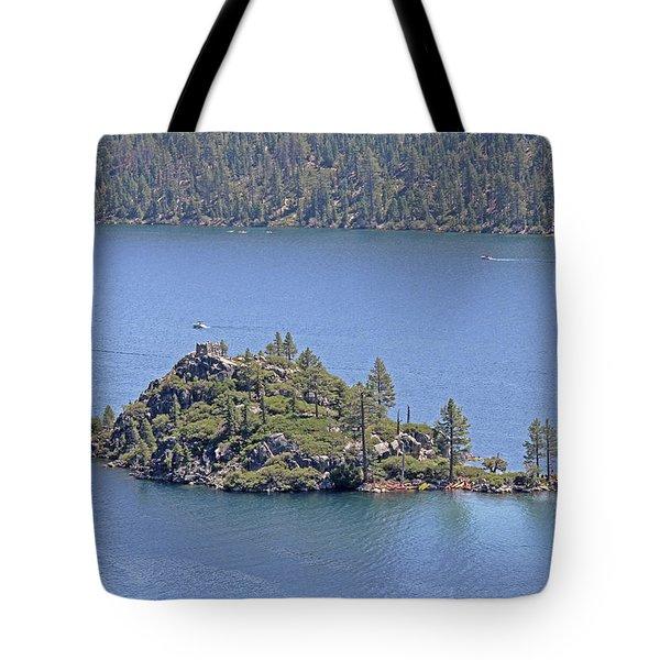 Lake Tahoe - Fannette Island Tote Bag
