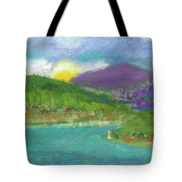 Tote Bag featuring the photograph Lake View by David Patterson