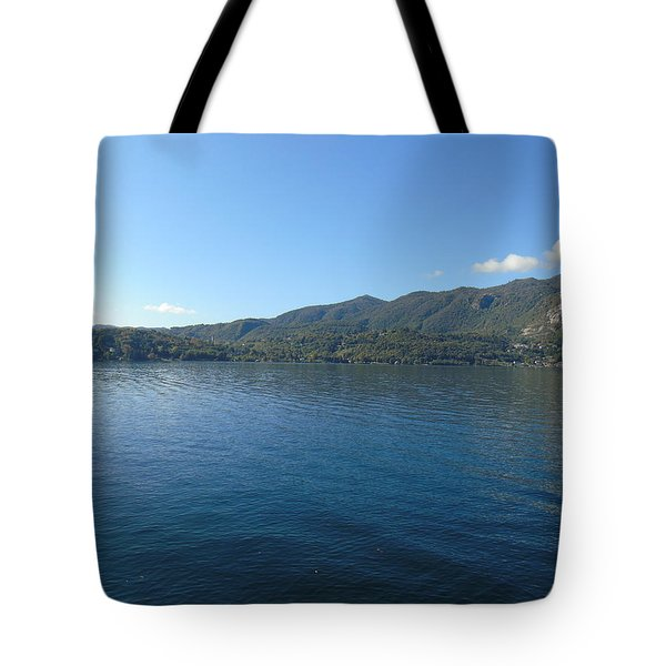Lakes In Piemonte Tote Bag