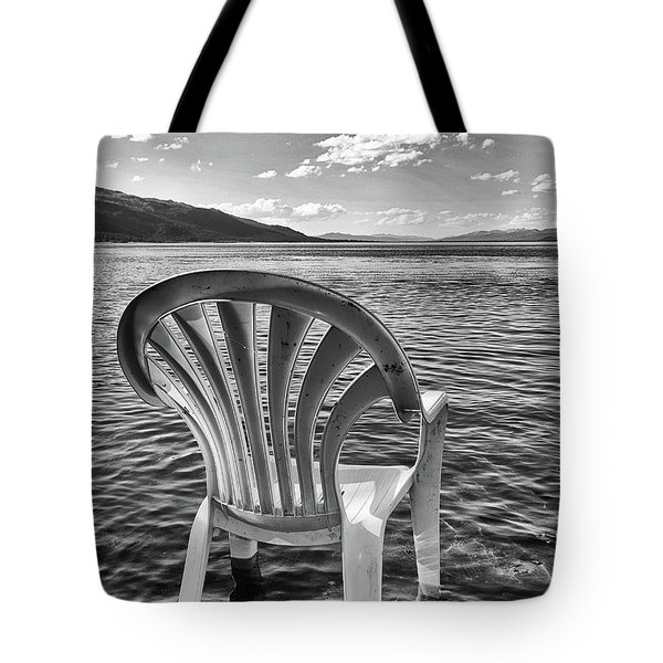 Lakeside Waiting Room Tote Bag