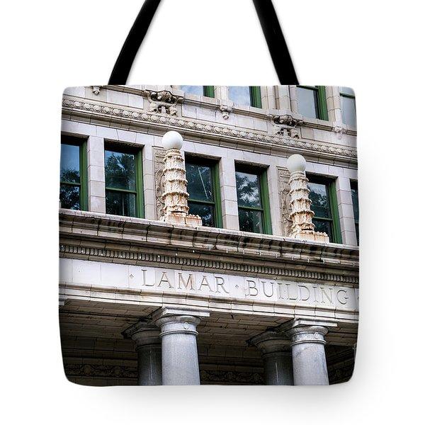 Lamar Building - Augusta Ga Tote Bag