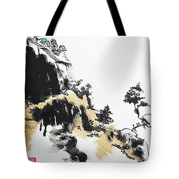 Land Of Zen Tote Bag