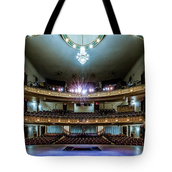 Landers Theatre Stage View Tote Bag