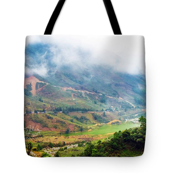 Landscape In Vietnam Tote Bag