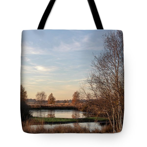 Tote Bag featuring the photograph Landscape Scenery by Anjo Ten Kate