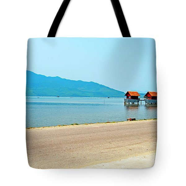 Lang Co Houses On The Water - Hue, Vietnam Tote Bag