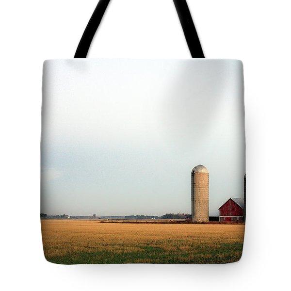 Langlade County Farm Tote Bag